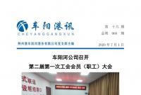 【第六十期】公司召开第二届第一次工会会员(职工)大会